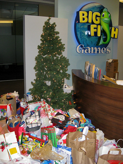 Big Fish Gives! Childhaven Wishing Tree 1