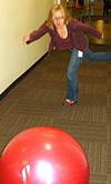 Hallway Bowling
