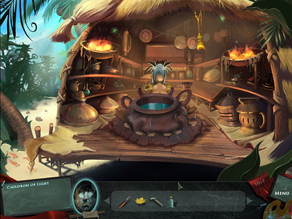 Cauldron of Light Screenshot from Drawn: The Painted Tower Game