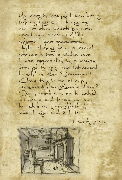 Return to Ravenhearst Lost Journal - Page 17