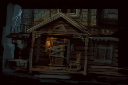 Ravenhearst Front Door I