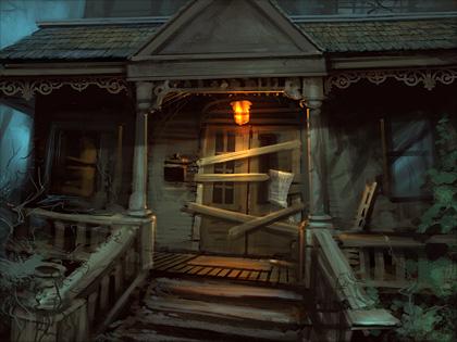 Ravenhearst Front Door II