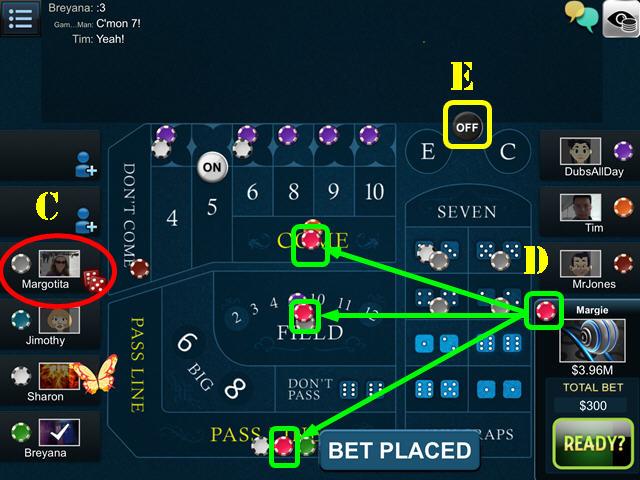 Big Fish Casino Craps
