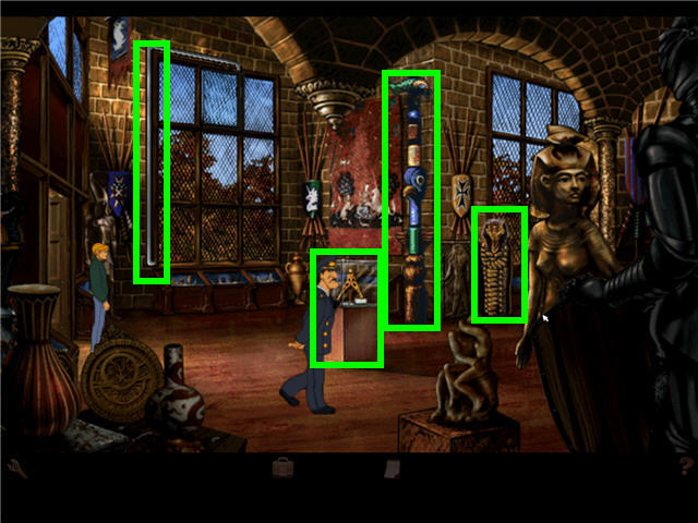 Secrets of the ark: a broken sword game (2006) windows box cover.