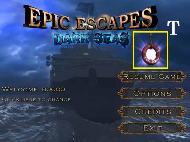 Epic Escapes: Dark Seas