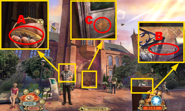 Hidden expedition smithsonian castle walkthrough guide for Moving items into place