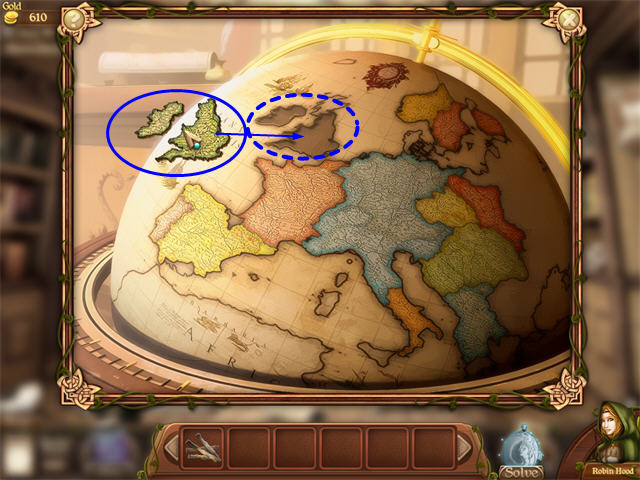 Robins quest a legend born walkthrough guide tips big fish take the countries from your inventory and click once on the map they will scatter around the edges gumiabroncs Images