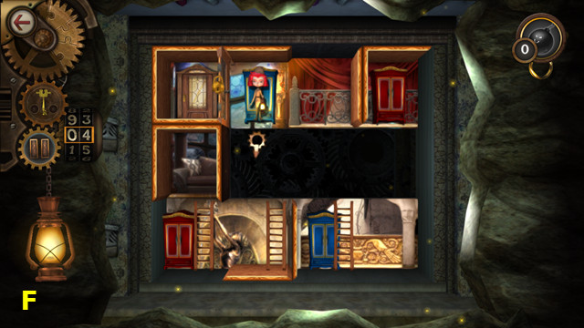 Rooms: The Unsolvable Puzzle