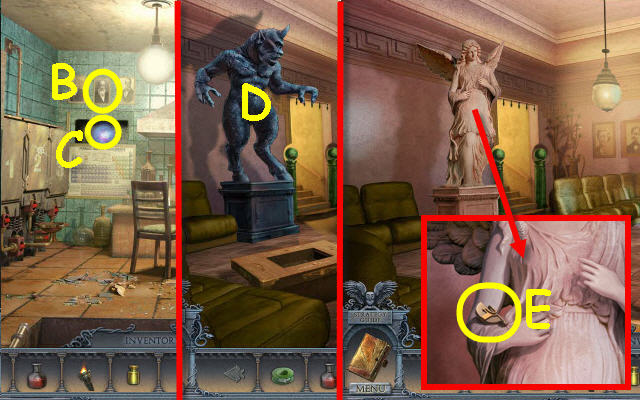 Secrets of the Dark Mystery of the Ancestral Estate Walkthrough, Guide,& Tips Big Fish