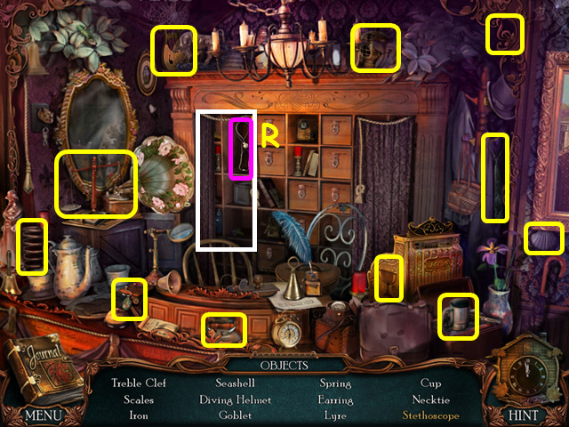 Victorian Mysteries: The Yellow Room Walkthrough, Guide, & Tips ...
