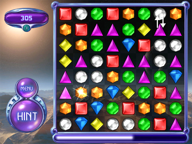 Bejeweled 2 Cascading Matches