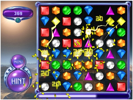 Bejeweled 2 Hyper Cubes