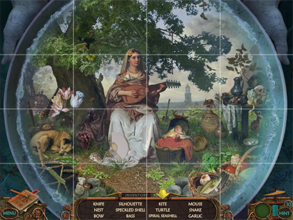 Hidden Object Game Tips - Grid System