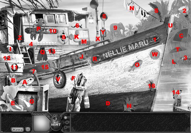 Nellie Maru Boat Walkthrough