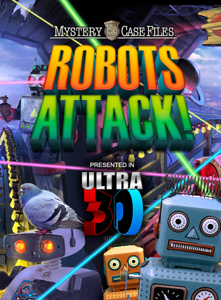 Mystery Case Files: Robots Attack!