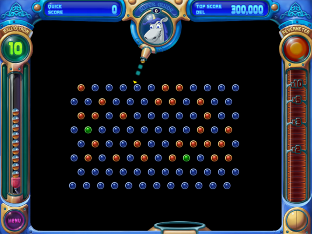 Peggle Deluxe Black Background Cheat Code
