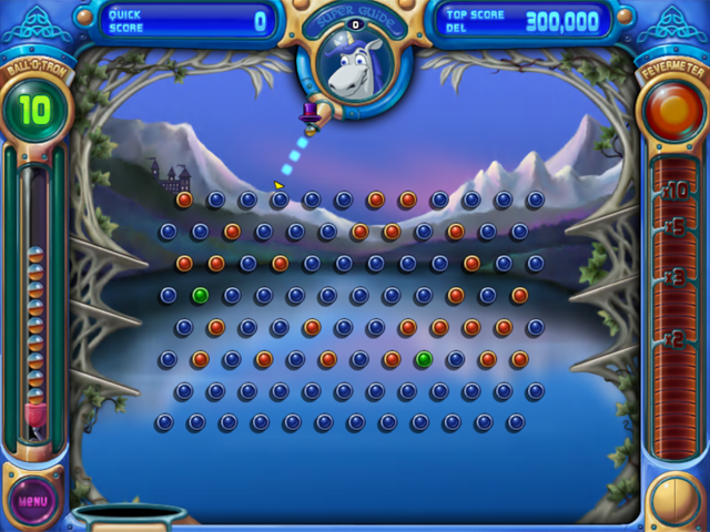 Peggle Deluxe Top Hat Cheat Code