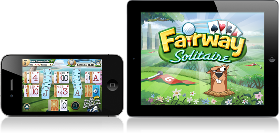 Fairway Solitaire for iPad and iPhone