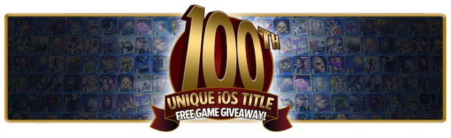 100th iOS App Giveaway