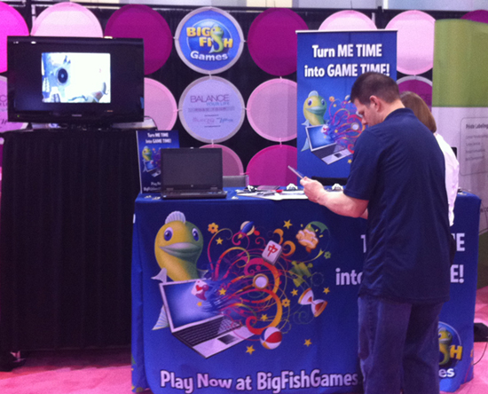 Big Fish Games Booth