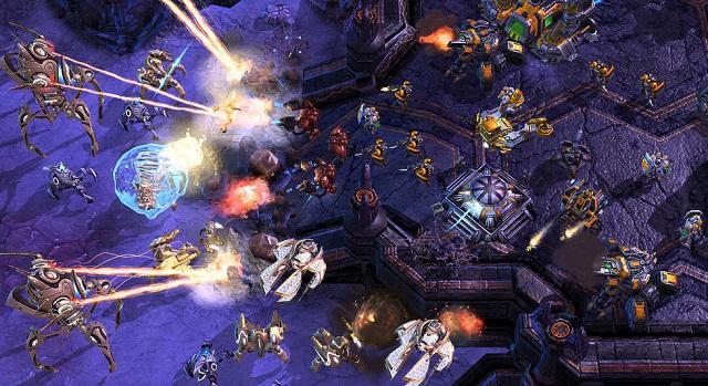 Starcraft Battle