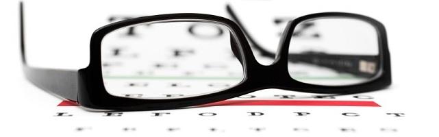 Eye Chart & Glasses
