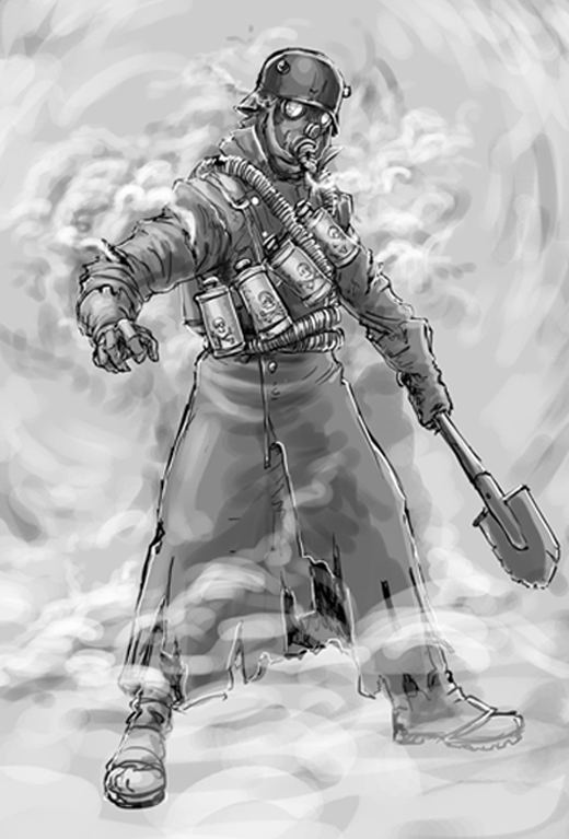 Trooper Sketch