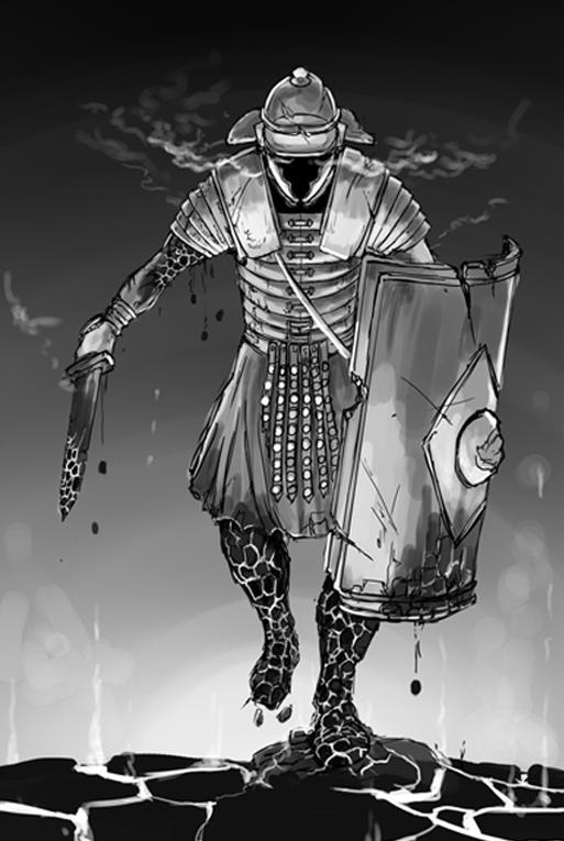 Sword and Shield Sketch