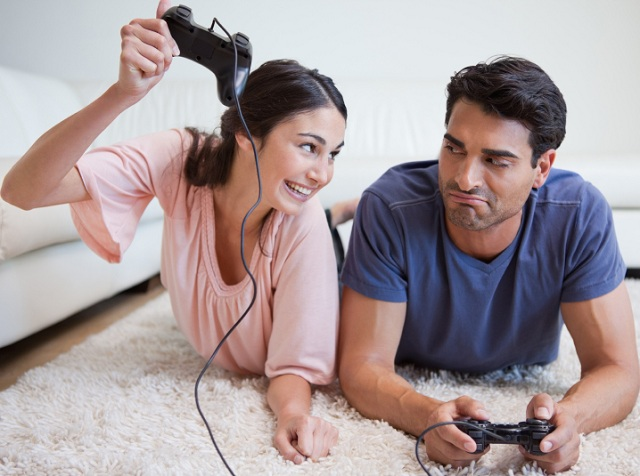 Image result for couples playing video games together