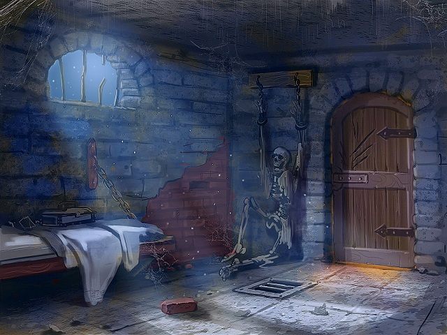 Mystery of the Ancients - Prison Cell