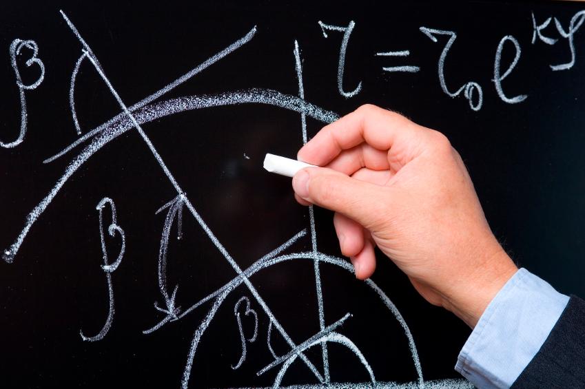 Research on a chalkboard