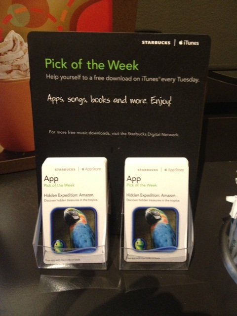 Starbucks Pick of the Week