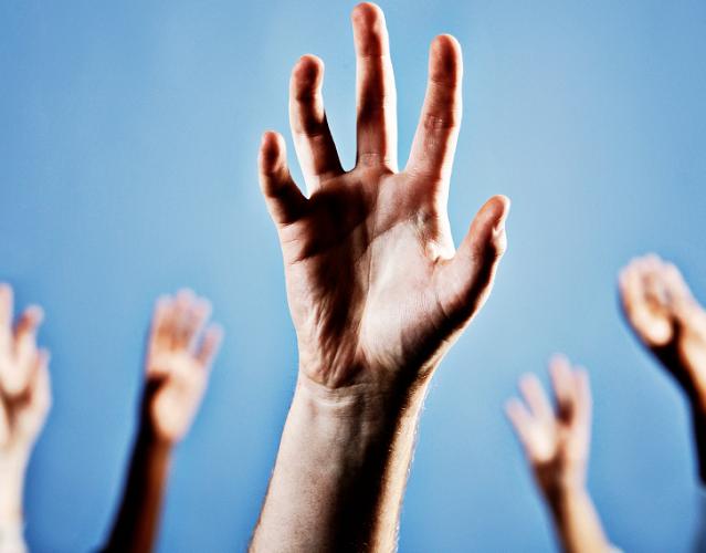Beware! Zombie Hands