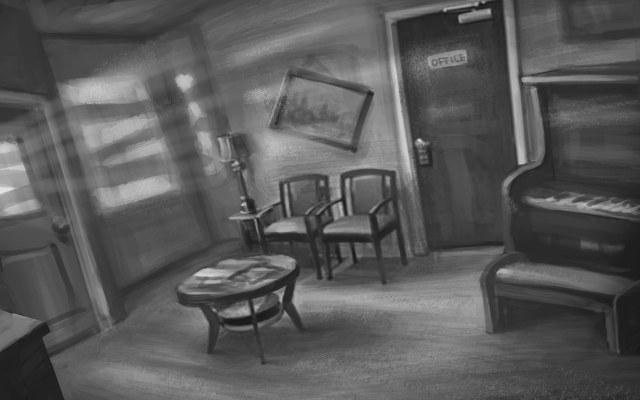 Coroners Waiting Room Concept