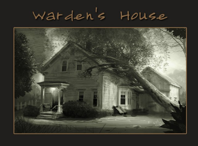 Wardens House Sketch Concept