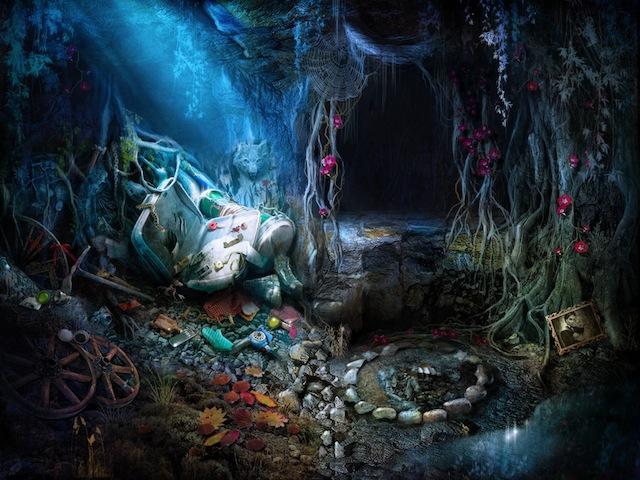 Grim Tales, scène d'objets cachés