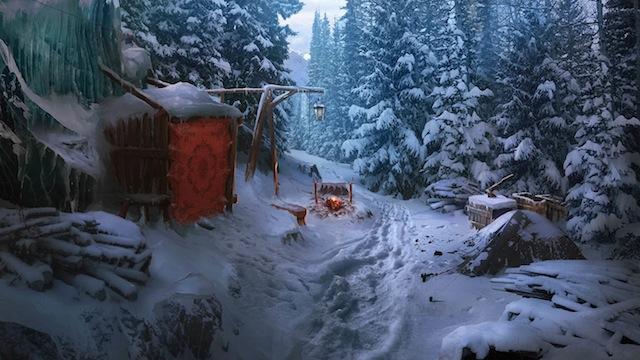 Grim Tales Snow Trail