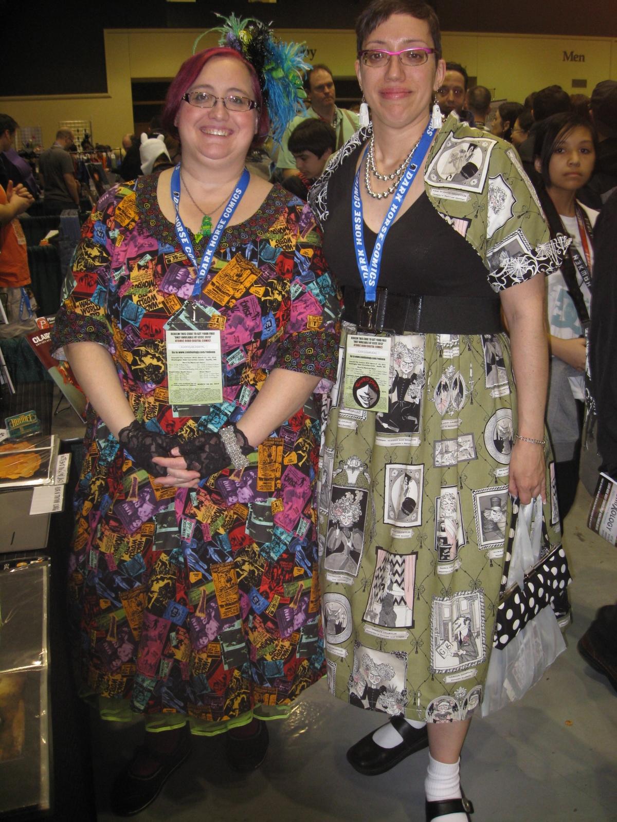 Comic Dresses