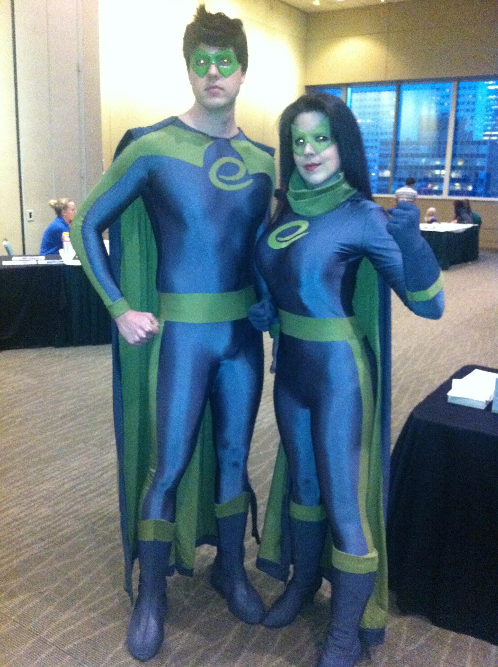 Emerald City ComiCon Mascots