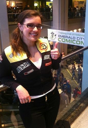 Lauren at Emerald City ComiCon 2013