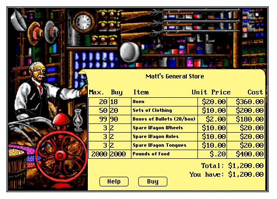 what can the oregon trail teach us about personal finance big