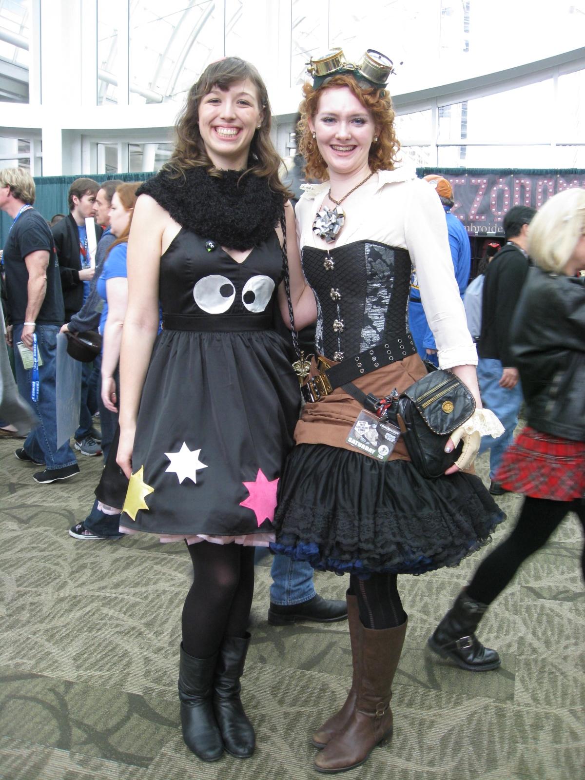 Steampunk and Sprite