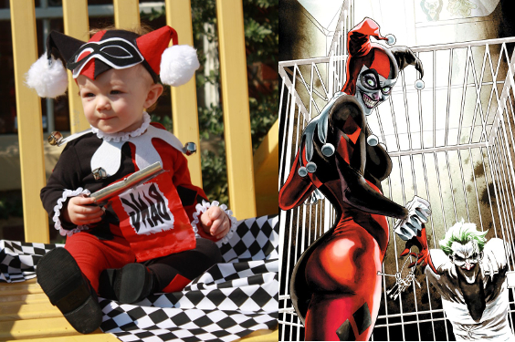Harley Quinn Kid Costume