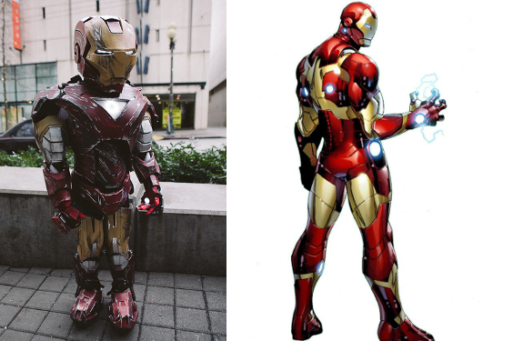 Iron Man Kid Costume