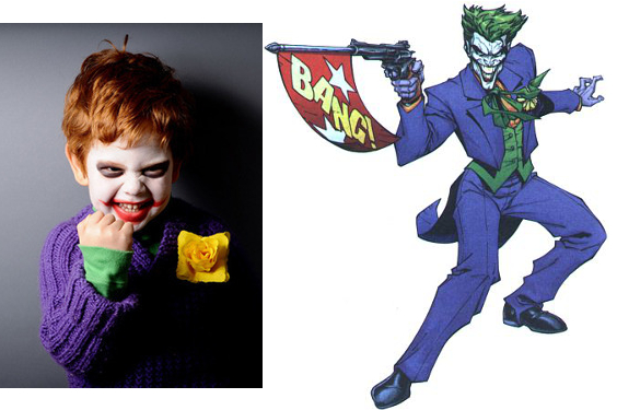 Joker Kid Costume  sc 1 st  Big Fish Games & 13 Adorably Disturbing Kids Costumes - Big Fish Blog