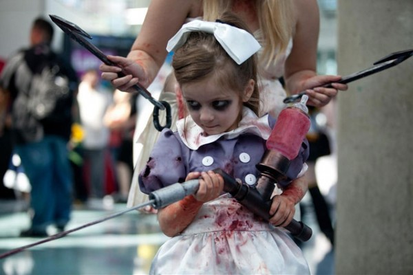 Little Sister Bioshock Kid Costume 2