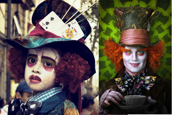 Mad Hatter Kid Costume