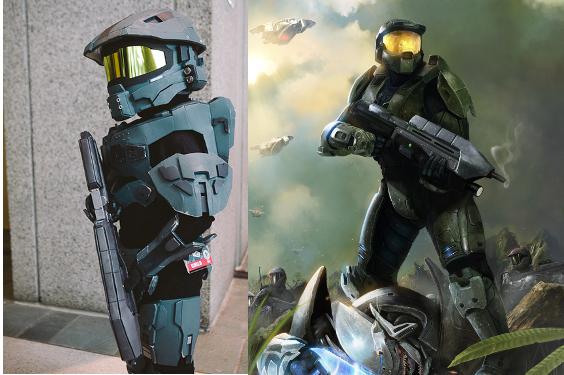 Halo Hunter Costume For Kids