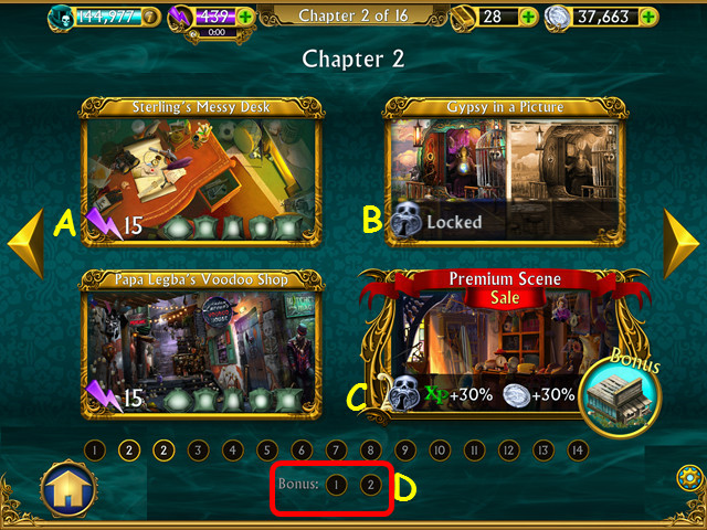Dark manor: a hidden object mystery. App for ios – review.
