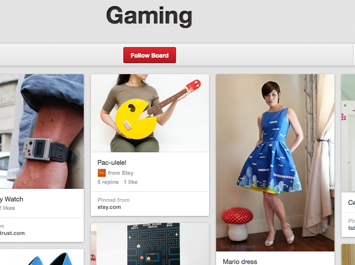 9e1ccea4f Pinterest is a huge canvas for niche video game interests.
